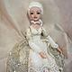 Коллекционные куклы ручной работы. Ярмарка Мастеров - ручная работа. Купить Жюлиет. Handmade. Бежевый, prosculpt, бисер