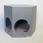 Зоотовары handmade. Livemaster - original item house for pet: Winnie Gray pooh pooh house. Handmade.