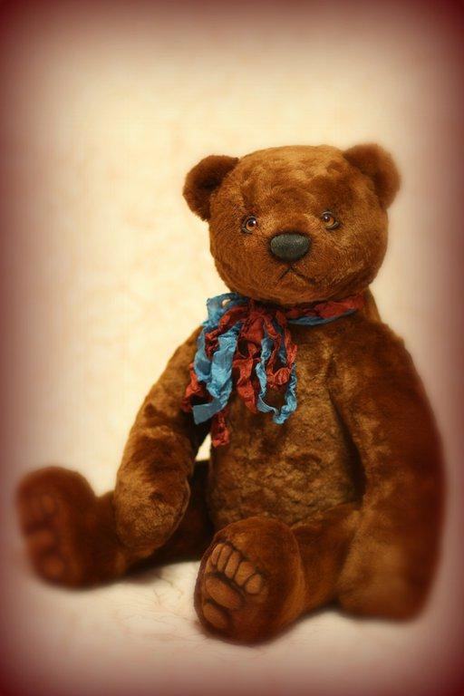 Мишки Тедди ручной работы. Ярмарка Мастеров - ручная работа. Купить Мишка Тедди Винни 45 см. Handmade. Коричневый