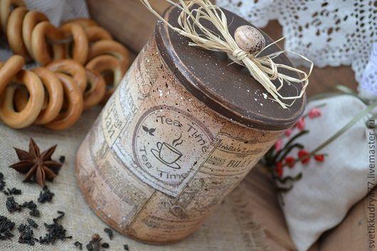 """Кухня ручной работы. Ярмарка Мастеров - ручная работа. Купить """"Чайное ассорти"""" баночка для чая. Handmade. Баночка для чая"""