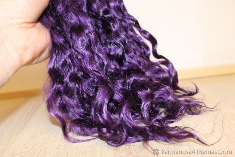 Hair for dolls Doll hair doll hair doll Mohair bjd wig scalp blythe lati MSD SD reborn doll hair Curls Curls for Curls for dolls, dolls to buy Hair for dolls, buy Handmade Fair Masters