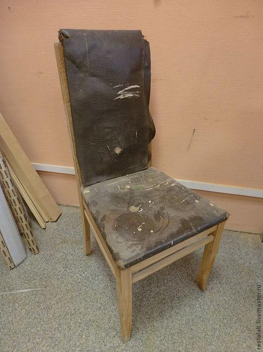 Реставрация. Ярмарка Мастеров - ручная работа. Купить Реставрация и перетяжка стула 1950 г.. Handmade. Реставрация, обивка мебели
