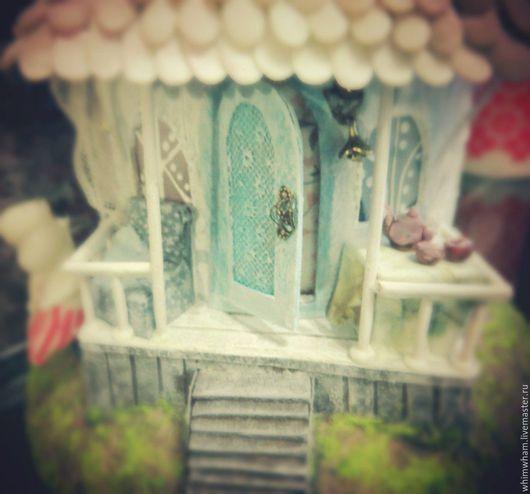 Освещение ручной работы. Ярмарка Мастеров - ручная работа. Купить Муми домик (белый). Handmade. Белый, муми дом, нежный