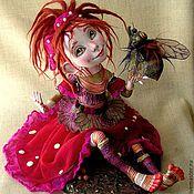 """Куклы и игрушки ручной работы. Ярмарка Мастеров - ручная работа Кукла""""Мухоморинка"""". Handmade."""