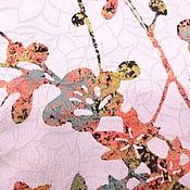 Материалы для творчества ручной работы. Ярмарка Мастеров - ручная работа Японский шелк с выработкой батик. Handmade.