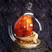Для дома и интерьера ручной работы. Ярмарка Мастеров - ручная работа Шар стеклянный с минералами Артефакт. Handmade.