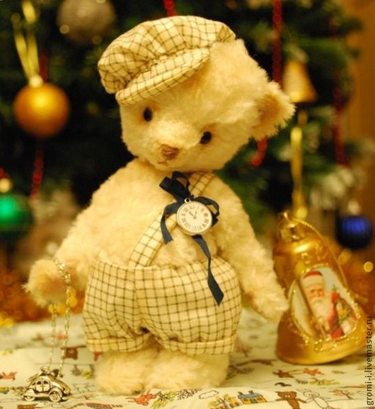 Мишки Тедди ручной работы. Ярмарка Мастеров - ручная работа. Купить Медвежонок Яшенька. Handmade. Белый, авторская игрушка