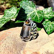 Rings handmade. Livemaster - original item Ring with tourmaline. Handmade.