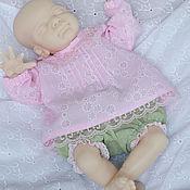 Куклы и игрушки ручной работы. Ярмарка Мастеров - ручная работа Наряд для крошки Рози. Handmade.