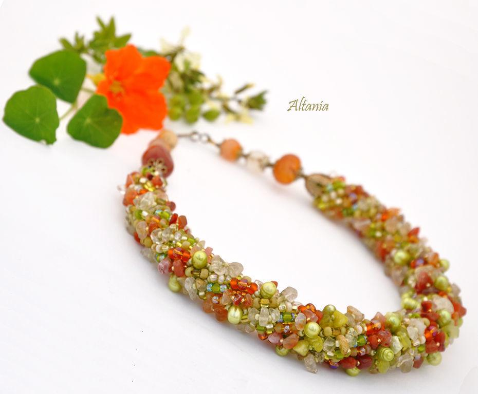 Indian summer - necklace No. №1, Necklace, Sarov,  Фото №1