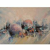 Картины и панно handmade. Livemaster - original item The city. Handmade.
