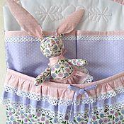 Для дома и интерьера handmade. Livemaster - original item Pockets-organizer for a cot Sasha. Handmade.