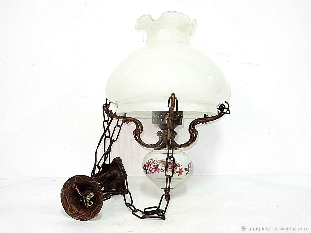 French vintage lamp. France. 1950 gg, Vintage interior, Kaliningrad,  Фото №1
