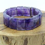 Украшения handmade. Livemaster - original item Purple Twilight Amethyst Bracelet. Handmade.