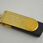 Сувениры и подарки handmade. Livemaster - original item Custom logo gifts.USB flash drive.. Handmade.