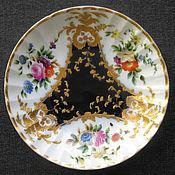 1830-1850-е годы. Роскошнее блюдце. Фабрика Гарднера. Царская Россия