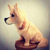 """Куклы и игрушки ручной работы. Ярмарка Мастеров - ручная работа пёс """" Малыш"""". Handmade."""