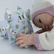 Куклы и игрушки ручной работы. Ярмарка Мастеров - ручная работа Кот Баюн - мягкая игрушка для новорожденных. Handmade.
