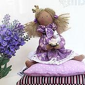 Куклы и игрушки ручной работы. Ярмарка Мастеров - ручная работа Малышка в лавандовом (маленькая принцесса тильда). Handmade.