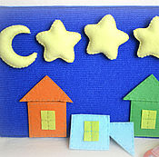 Куклы и игрушки ручной работы. Ярмарка Мастеров - ручная работа Звездное небо (на липучках). Handmade.