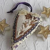 Подарки к праздникам ручной работы. Ярмарка Мастеров - ручная работа АРОМАТНОЕ СЕРДЕЧКО. Handmade.