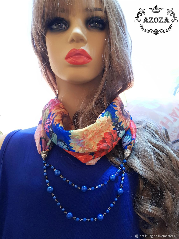 Snoody-scarf-necklace-bandana ' Lily', Snudy1, Moscow,  Фото №1