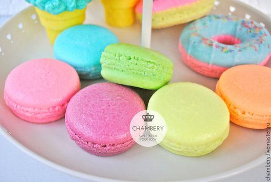 """Мыло ручной работы. Ярмарка Мастеров - ручная работа. Купить Мыло с нуля  """"French macarons"""". Handmade. Разноцветный, мыло натуральное"""