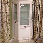 Для дома и интерьера handmade. Livemaster - original item Corner Cabinet-cupboard. Handmade.