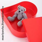 """Куклы и игрушки ручной работы. Ярмарка Мастеров - ручная работа Медведь """"Джой-лежебока"""" (8см). Handmade."""