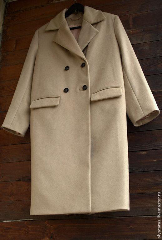 """Верхняя одежда ручной работы. Ярмарка Мастеров - ручная работа. Купить Пальто """"В оттенках NUDE"""".. Handmade. Бежевый"""