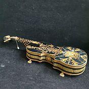 Для дома и интерьера handmade. Livemaster - original item Box-violin ,,Music ,,. Handmade.