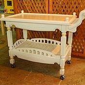 Столы ручной работы. Ярмарка Мастеров - ручная работа сервировочный стол тележка. Handmade.