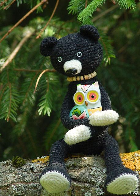 Игрушки животные, ручной работы. Ярмарка Мастеров - ручная работа. Купить Медвежонок ручной работы, зовут- Buddy.. Handmade.
