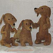 Куклы и игрушки ручной работы. Ярмарка Мастеров - ручная работа Таксопарк. Handmade.