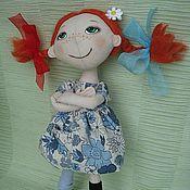 Куклы и игрушки ручной работы. Ярмарка Мастеров - ручная работа кукла Пеппилотта. Handmade.