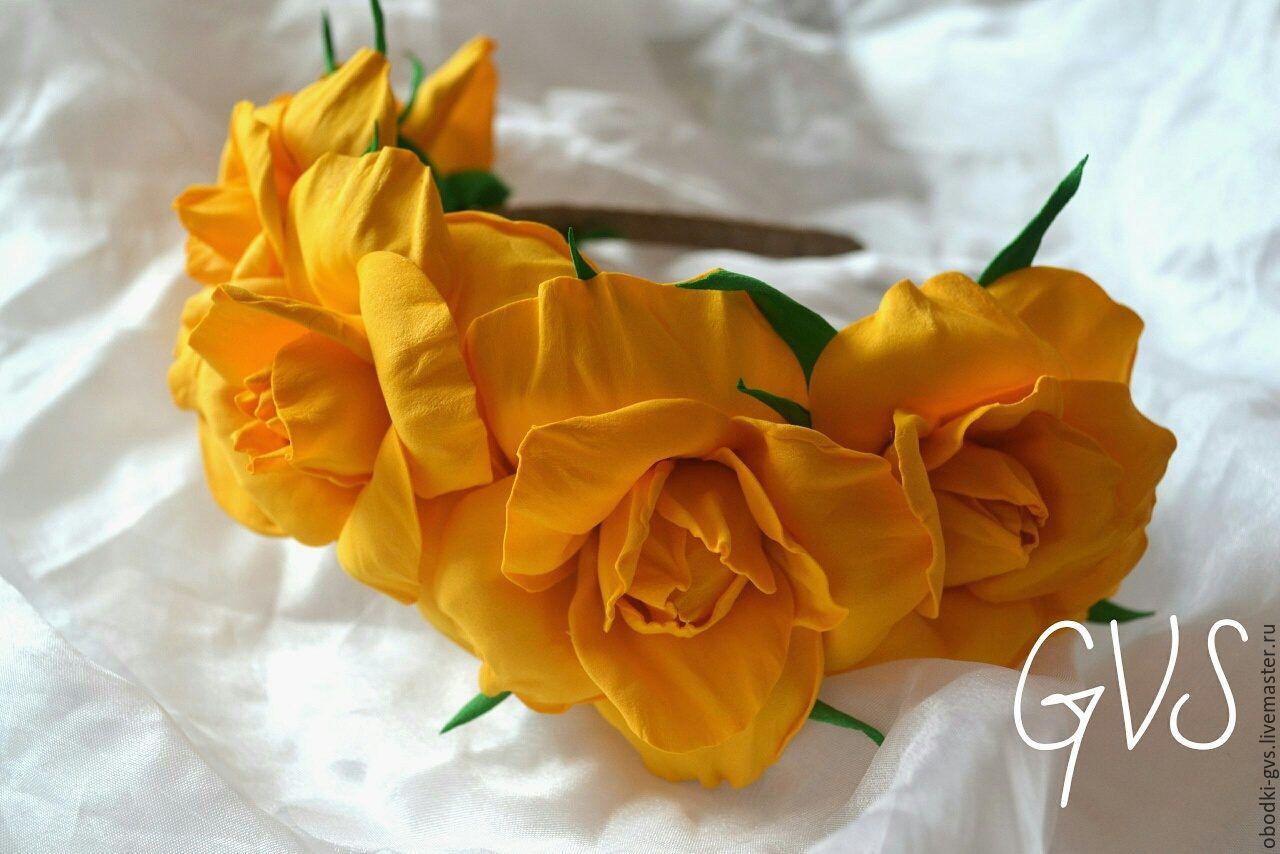 МК Цветы из фоамирана 22