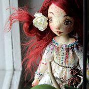 Куклы и игрушки ручной работы. Ярмарка Мастеров - ручная работа Агидель. Текстильная кукла. Handmade.