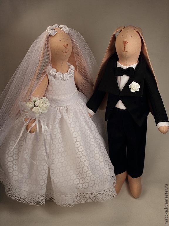 Кукла тильда свадебное платье