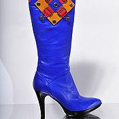 """Обувь ручной работы. Ярмарка Мастеров - ручная работа Сапоги """"Барраяр"""". Handmade."""