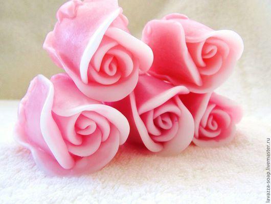 Мыло ручной работы. Ярмарка Мастеров - ручная работа. Купить Мыло Бутон розы. Handmade. Розовый, розы ручной работы