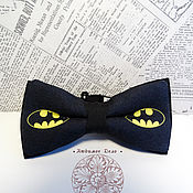 Аксессуары handmade. Livemaster - original item bow tie batman/ butterfly with batman/ batman/ superhero. Handmade.