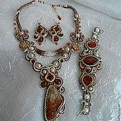 Украшения handmade. Livemaster - original item Set: necklace earrings set
