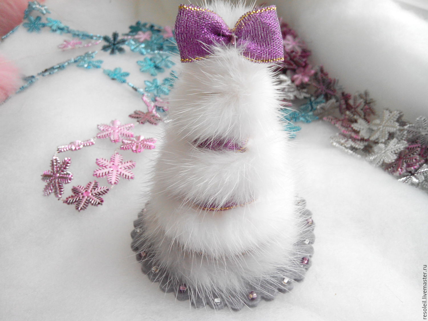 Herringbone mink new year gift, Figurines, Samara,  Фото №1