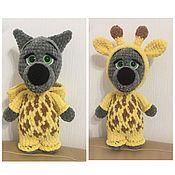 Мягкие игрушки ручной работы. Ярмарка Мастеров - ручная работа Плюшевый волк в костюме жирафа. Handmade.
