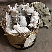 Сувениры и подарки ручной работы. Ярмарка Мастеров - ручная работа Набор ёлочных игрушек N 19. Handmade.