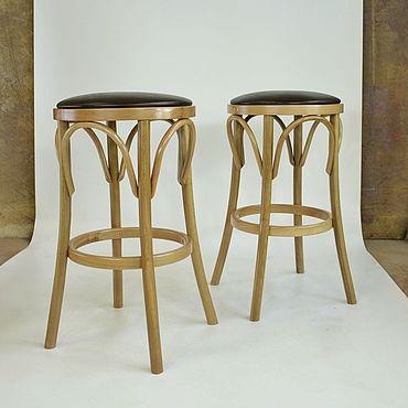 Мебель ручной работы. Ярмарка Мастеров - ручная работа Барный табурет из бука. Handmade.
