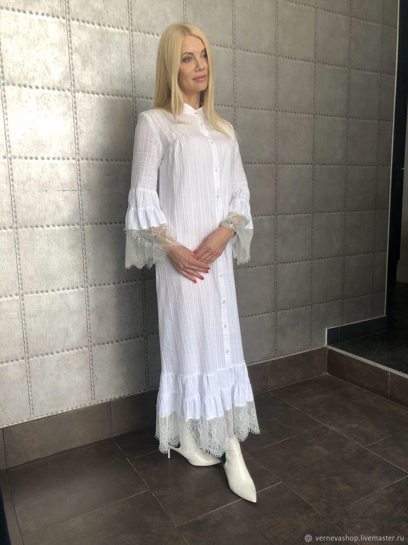 """Платье рубашка в стиле """"бохо"""", Платья, Москва,  Фото №1"""
