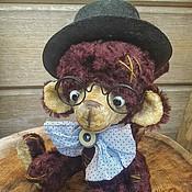 """Куклы и игрушки ручной работы. Ярмарка Мастеров - ручная работа Обезьянка тедди """" Вишня в шоколаде"""". Handmade."""