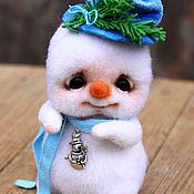 Куклы и игрушки ручной работы. Ярмарка Мастеров - ручная работа Снеговичок Фрости. Handmade.