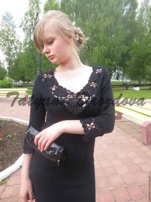 Платья ручной работы. Ярмарка Мастеров - ручная работа. Купить Пантера. Handmade. Черный, платье вечернее, хлопок
